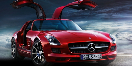 mercedes sls amg kaufen gebrauchtwagen. Black Bedroom Furniture Sets. Home Design Ideas